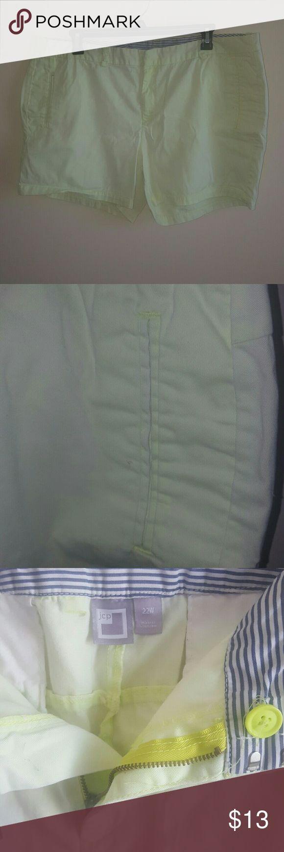 Lime Green Shorts 8inch stylish shorts jcpenney Shorts