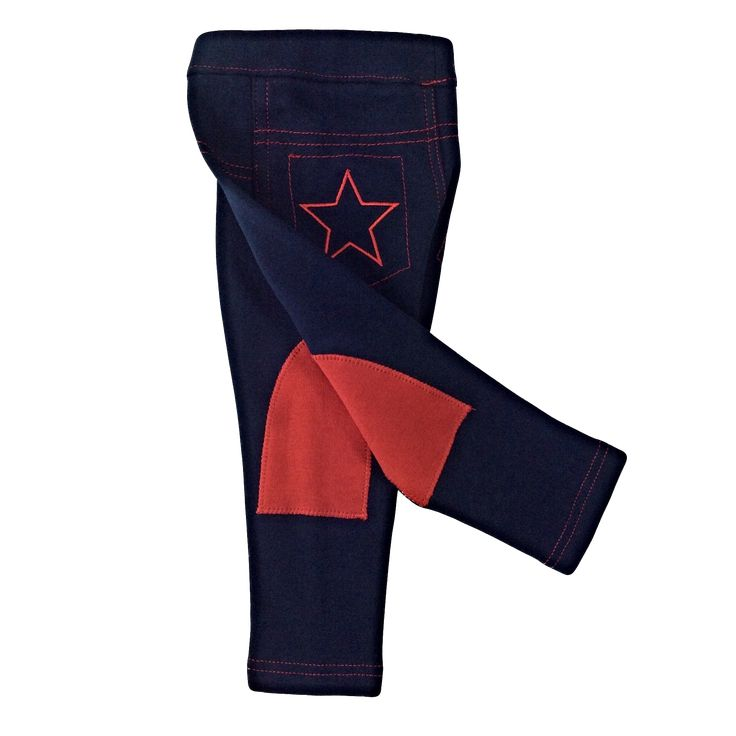 """""""SO CUTE"""" Winter Thick Warm High Quality BABY Navy Red Jodhpurs (Sizes 000 to 5yrs) www.virkotie.com"""