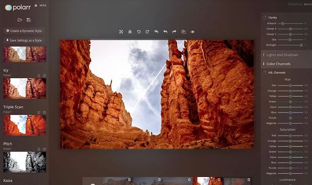 POLARR PHOTO EDITOR UNE APPLICATION DE RETOUCHE PHOTO HORS LIGNE POUR CHROMEBOOK