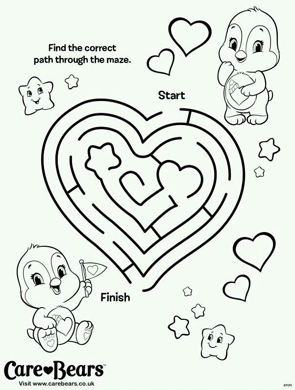 carebear cousin coloring pages - photo#28