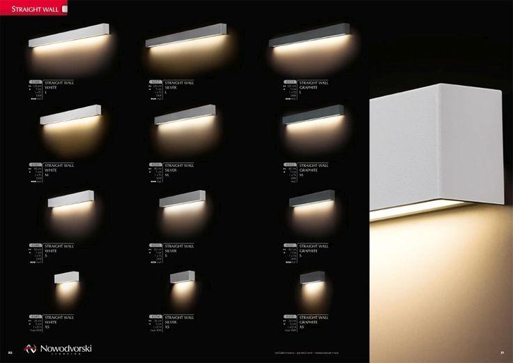 Lampy Straight Wall Nowości 2015 firmy Nowodvorski