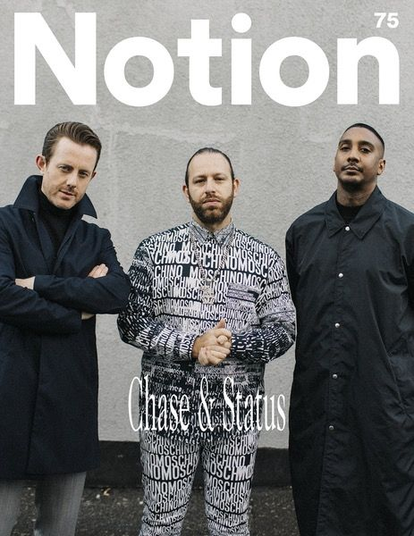 Chase & Status - Notion 75 Magazine Cover. Photographer: Vicky Grout