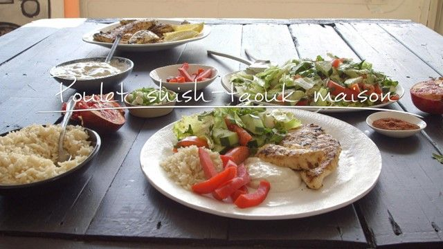 Poulet shish-taouk maison | Cuisine futée, parents pressés
