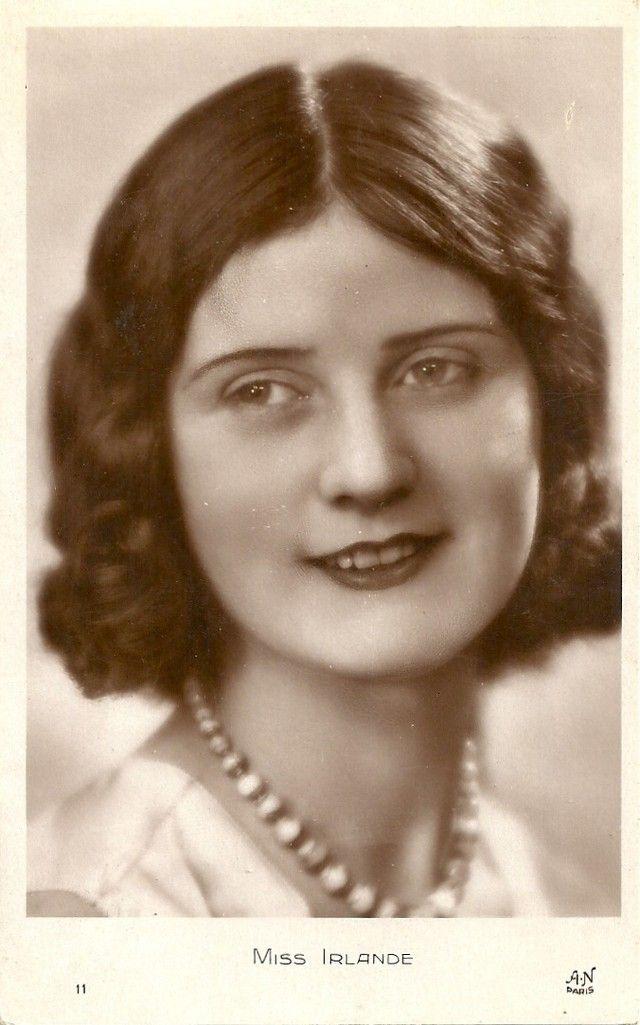 Ретрокрасавицы с конкурса «Мисс Европа — 1930» 2. Мисс Ирландия Вера Курран.