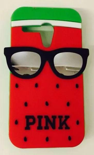 capinha capa case tpu melancia pink moto g1 frete r$ 9,99                                                                                           Mais