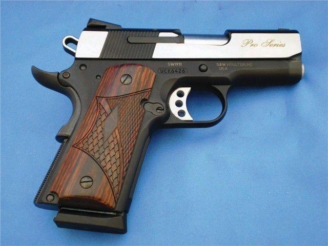 s u0026w m1911 sub compact pro  45 acp concealed carry   semi