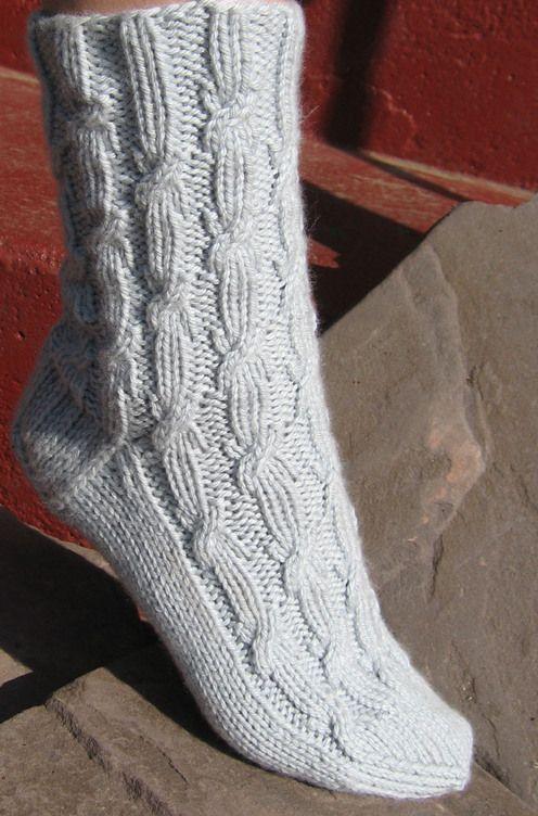 Gardiner Yarn Works--Chrissy Gardiner--Karen's Sugar-Free Socks (Cuff Down)