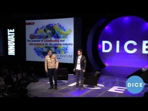 "comcept's Keiji Inafune - ""Mighty No. 9: The Potential of Crowdfunding"" - D.I.C.E. 2014 Summit"