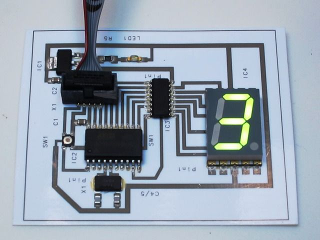 Create circuit boards in minutes, from home, at the cost of a cup of coffee - Squink prints conductive ink and assembles your circuit.