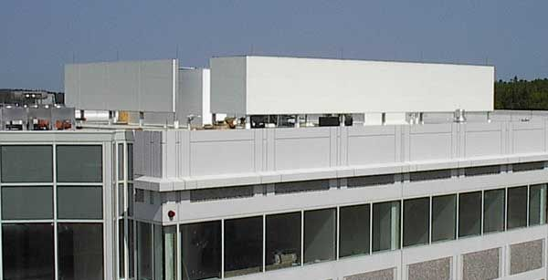 Rooftop Sound Barrier System