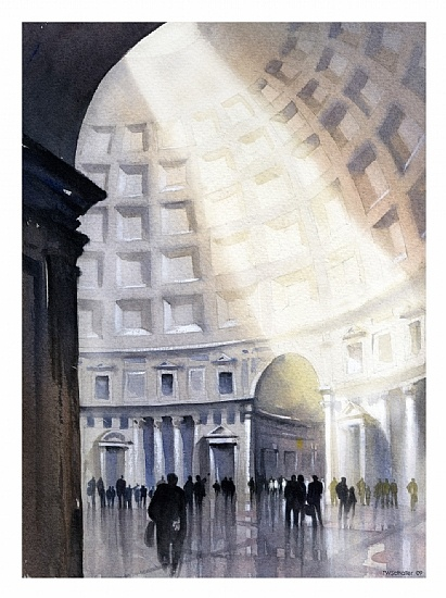 Pantheon | Thomas Schaller-watercolor