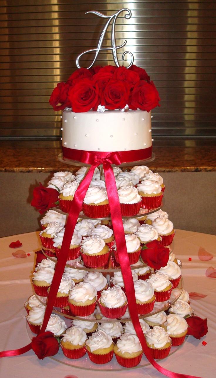 Best 25 Wedding Cupcake Towers Ideas On Pinterest