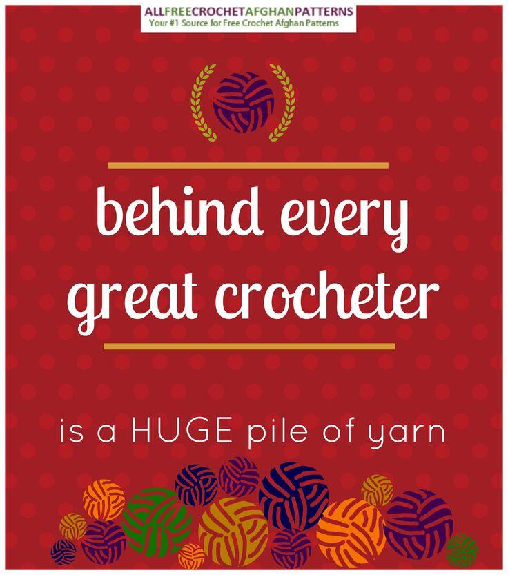 Crochet humor - so true!