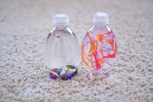 Crafts For Kids!: Crafts For Kids, Sensory Crafts, Water Bottle, Sensory Bottle, Business Bags, Fun Stuff, Kids Crafts, Crafts Idea, Discovery Bottle