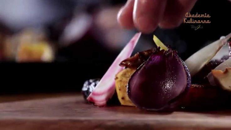 Przepis dla początkujących kucharzy na warzywa pieczone z jabłkowym bocz...