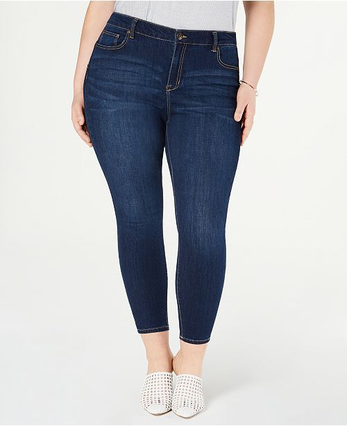 e97def450bb Celebrity Pink Trendy Plus Size Skinny Ankle Jeans   Reviews - Jeans - Plus  Sizes -