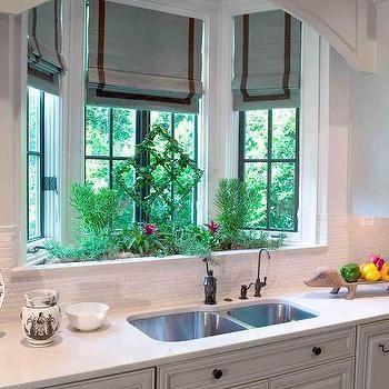Olive Green Kitchen Cabinets - Transitional - kitchen - Pratt and ...