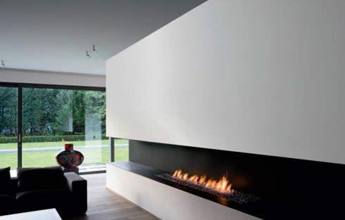 Nice #modern #fireplace