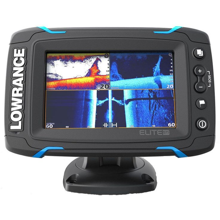 Lowrance Elite5 Ti Touch Combo Med/High/455/800 HDI