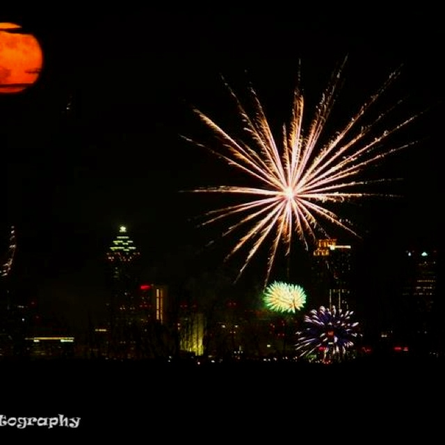 july 4th centennial park atlanta