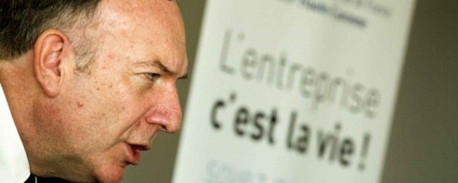 Pierre Gattaz, fossoyeur de l'état-providence.