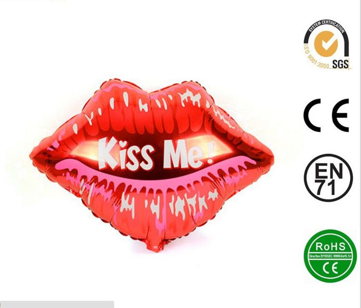 Find More Balloons Information about New Free Shipping 50 pcs/lot Wedding Party decoration wholesales Aluminum film lips Kiss Me balloons,High Quality film blowing machine china,China film recycling Suppliers, Cheap balloons for balloon animals from Welcome Tina's Shop  on Aliexpress.com