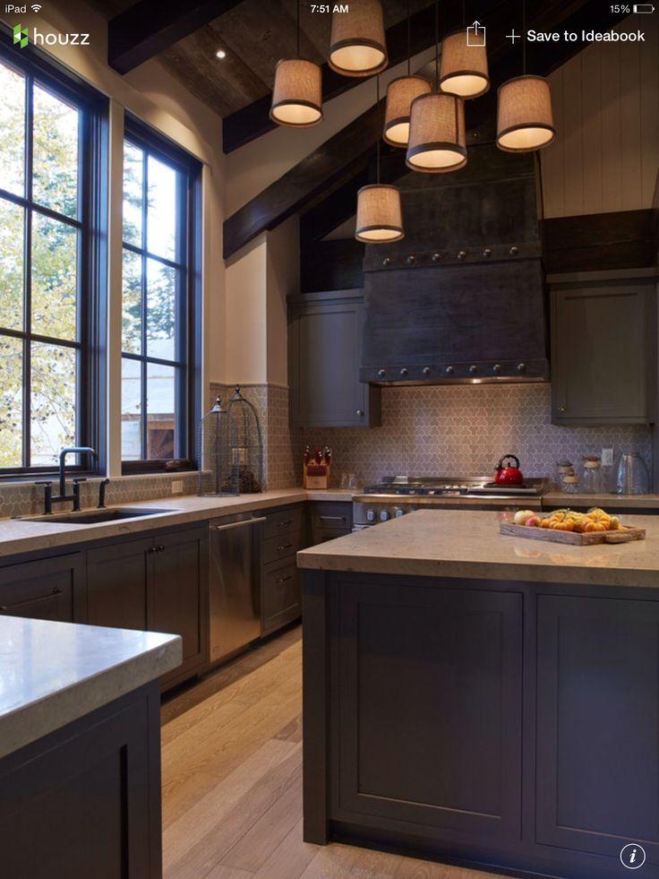 Rustic Modern Kitchen Color Scheme