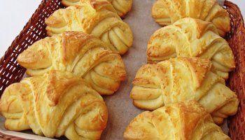 Nuevos Croissants con Queso