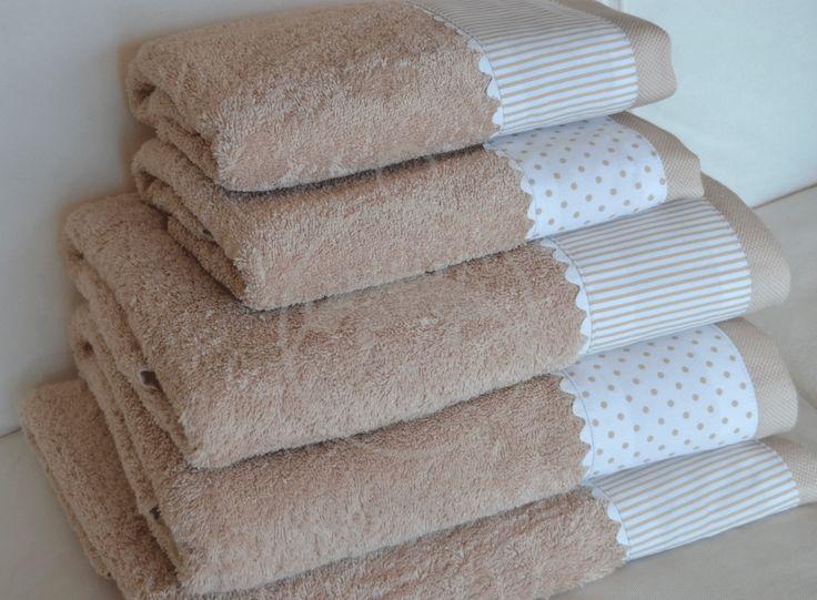 M s de 25 ideas nicas sobre toallas bordadas en pinterest - Sabanas y toallas ...