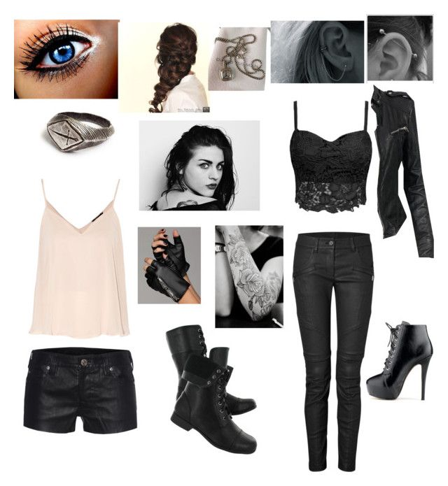 """""""Untitled #19"""" by siddle1230 on Polyvore featuring beauty, Disney, True Religion, Hush Puppies, Karl Lagerfeld, David Yurman, MuuBaa and DKNY"""