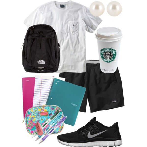 """Studying All Day"" by alexkay98 on Polyvore cheap nike free 5.0 only $49, save up to 63% off"
