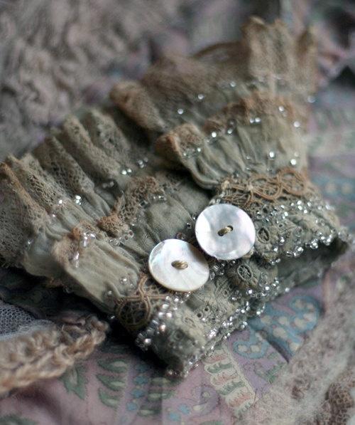 wrist cuff from by FleurBonheur