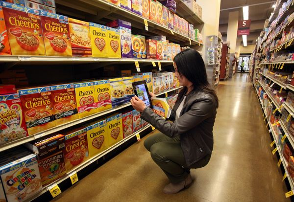 It was once just the stuff of video games and science fiction novels, but now virtual and augmented reality are transforming supermarkets, department stores and fashion retailers into high-tech shopping experiences that may rival their online competitors.