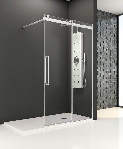 Profiltek parois sur mesure portes d int rieur en verre for Porte de douche en verre sur mesure