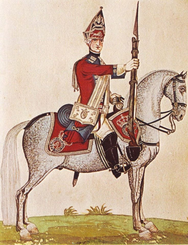 Hanover in the Seven Years War Cavvalry Horse Grenadier Guards by Karsten