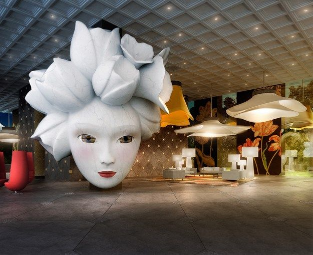 Mystical touches from the Dutch designer Marcel Wanders at Quasar Istanbul