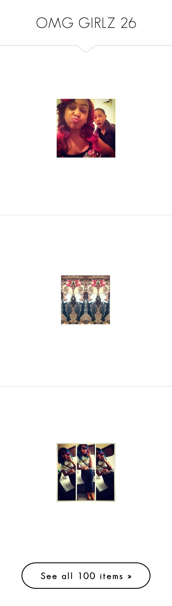 """""""OMG GIRLZ 26"""" by omggirlz900 ❤ liked on Polyvore featuring zonnique, bahja, bahja. and omg"""