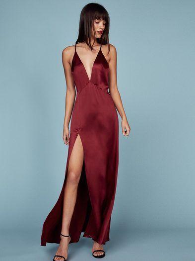 The Amante Dress  https://www.thereformation.com/products/amante-dress-crimson?utm_source=pinterest&utm_medium=organic&utm_campaign=PinterestInspoPins