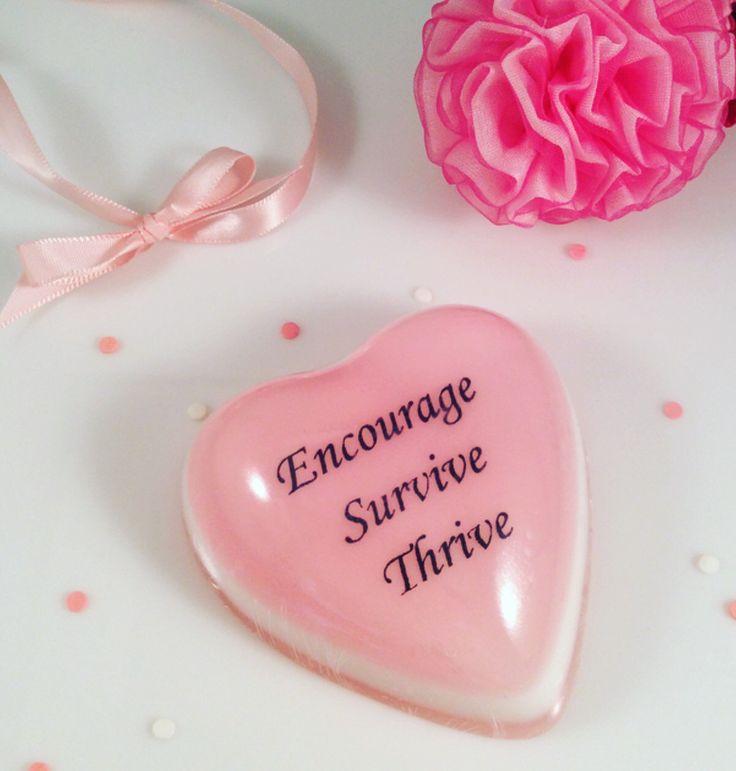Breast Cancer Awareness Soap. Message Soap Favors, Message Soap, Wedding Soap Favors, Wedding Soaps, Bridal Favors
