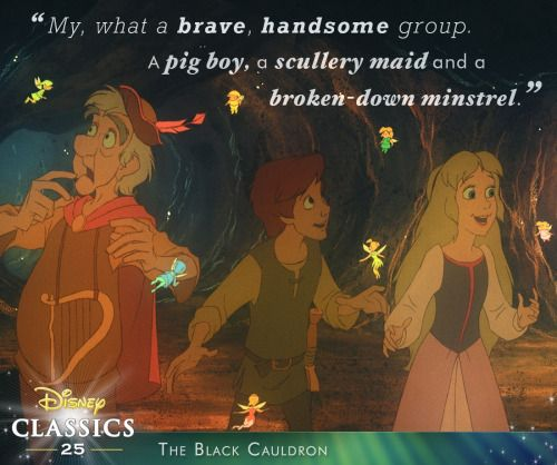 The Black Cauldron:)