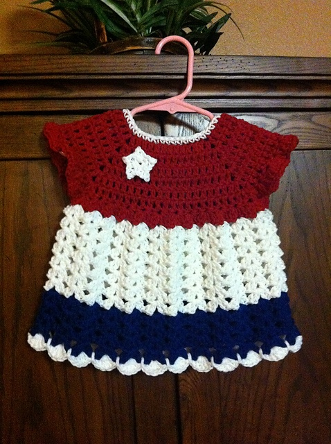 ScottyP's 4th of July Dress ~ free pattern