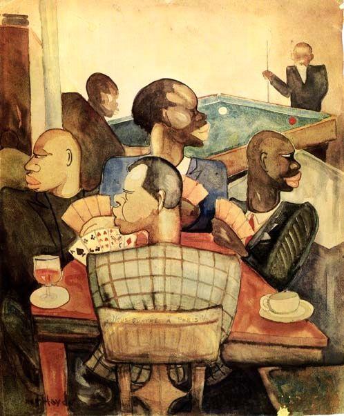 POKER FACE | 1930 Nous Quatre a Paris (We Four in Paris) by Palmer Haydenc. 1930. Follow Us On Twitter | Facebook | Flickr | Pinterest