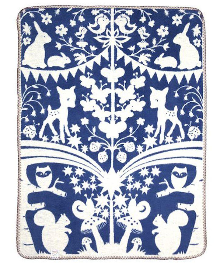 Fairytale Forest medium      blue - Racconti della foresta