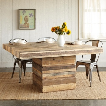 Truckee Square Dining Table in Winter 2013 from Sundance on shop.CatalogSpree.com, my personal digital mall.