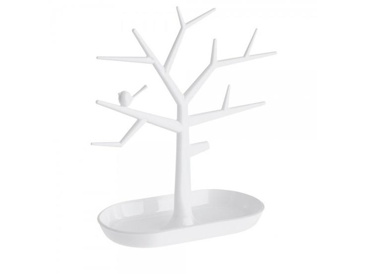 Deze pi:p boom van Koziol leent zich niet alleen perfect voor juwelen in badkamer, slaapkamer of dressing maar staat ook beeldig in de keuken of gang voor het opbergen van sleutels, visitekaartjes, horloges, leesbrillen, mobiele telefoons, portefeuilles, ...   Een leuk geschenkje voor groot en klein.