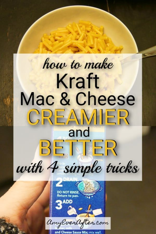 How To Make Kraft Mac And Cheese Better With 4 Simple Tricks Recipe Kraft Mac N Cheese Kraft Mac And Cheese Recipe Boxed Mac And Cheese