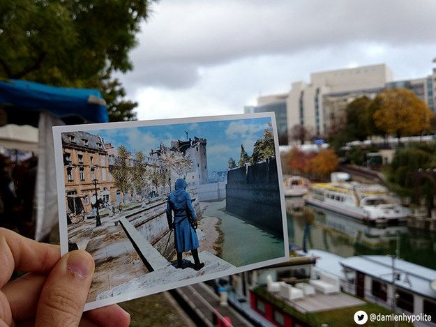"""Including the city's canals.   This Guy Went Out And Found Real Life Locations From """"Assassins Creed"""""""