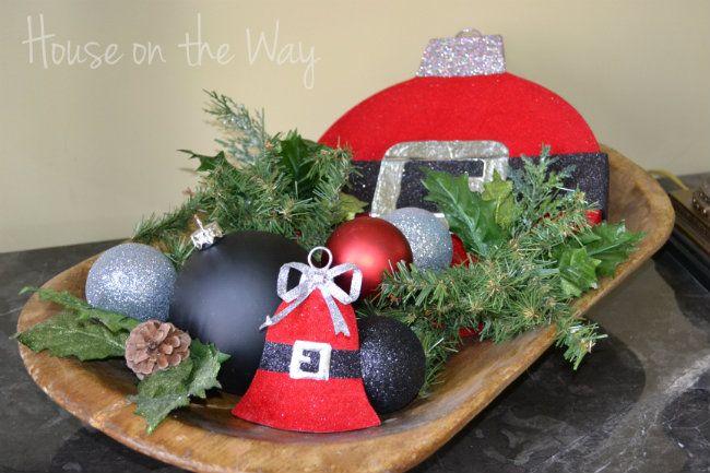 Christmas Table Decor ~ House on the Way