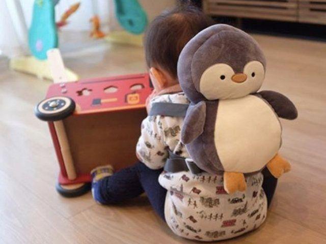 ペンギンにナマケモノも 500円で買えるヘッドガードがかわいい
