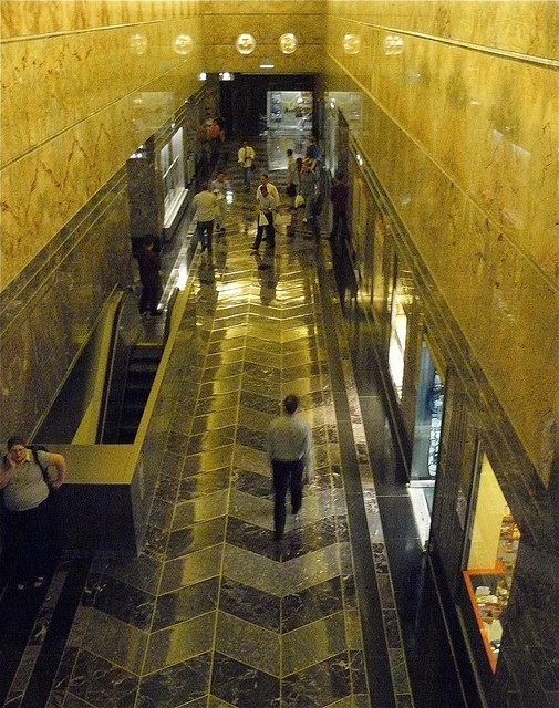 art deco hallway- Empire State Building | art deco | Pinterest